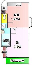 小菅駅 6.7万円