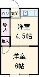 平安通駅 2.5万円