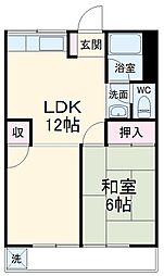 黒川駅 4.5万円