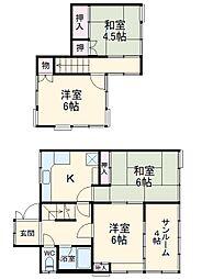 北茅ヶ崎駅 6.9万円