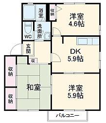 スポーツセンター駅 5.4万円
