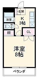 名鉄犬山線 上小田井駅 徒歩12分