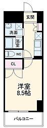 (仮称)香流橋1丁目マンション 7階1Kの間取り