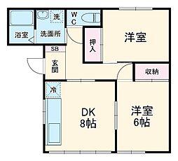 鹿沼駅 2.9万円