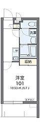 沖縄都市モノレール 県庁前駅 バス52分 浦西下車 徒歩4分の賃貸マンション 1階1Kの間取り