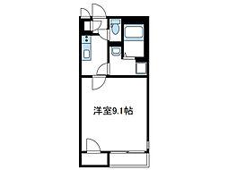 神奈川県厚木市及川1丁目の賃貸アパートの間取り