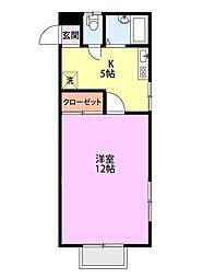 NEXUS KAMO[2階]の間取り