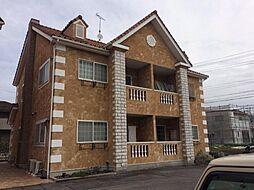 愛知県岡崎市野畑町字北浦の賃貸アパートの外観