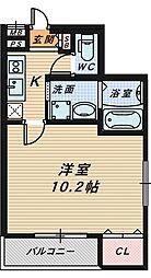 フジパレス堺南長尾Ⅲ番館[1階]の間取り