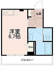 ソリッドリファイン稲田堤[1階]の間取り