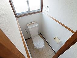 サンヒルズ須磨のトイレ、今回のお部屋には窓がありません。