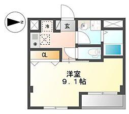 仮 国立谷保新築マンション[4階]の間取り