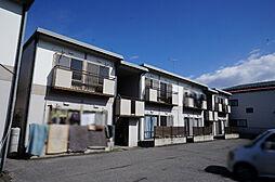 栃木県宇都宮市戸祭町の賃貸アパートの外観