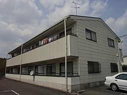 兵庫県川西市緑が丘2丁目の賃貸アパートの外観