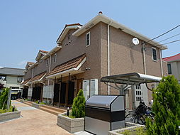 東京都調布市調布ケ丘3丁目の賃貸アパートの外観