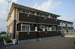 栃木県宇都宮市ゆいの杜4丁目の賃貸アパートの外観