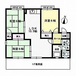 オブジュダールSHIBATAB棟[1階]の間取り