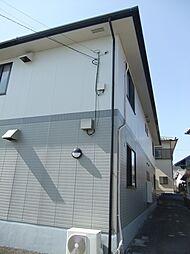 愛知県豊田市若林西町後口の賃貸アパートの外観
