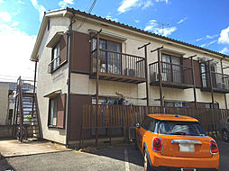 神奈川県川崎市高津区久地1丁目の賃貸アパートの外観