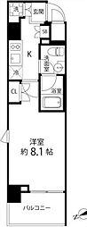 DeLCCS TOKYO BAY デルックス東京ベイ 9階1Kの間取り