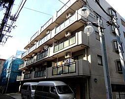 神奈川県横浜市青葉区新石川4丁目の賃貸マンションの外観