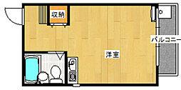 ローズガーデン[102号室]の間取り