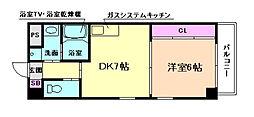ビエラ江戸堀[2階]の間取り