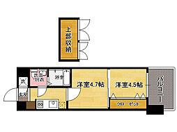 V-プロジェクト2100天神 No46[2階]の間取り