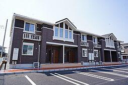 栃木県宇都宮市ゆいの杜7丁目の賃貸アパートの外観