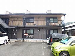 兵庫県川西市出在家町の賃貸アパートの外観
