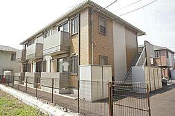 栃木県宇都宮市越戸町の賃貸アパートの外観