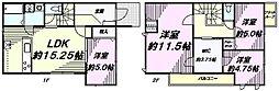 [一戸建] 東京都八王子市犬目町 の賃貸【東京都 / 八王子市】の間取り