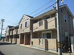 富山県富山市千代田町の賃貸アパートの外観