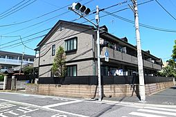 東京都大田区池上3丁目の賃貸アパートの外観