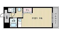 モアメゾン3[3階]の間取り
