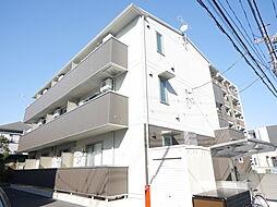 神奈川県相模原市南区松が枝町の賃貸アパートの外観