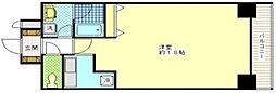 フローレンスAKISHIMA 10階ワンルームの間取り