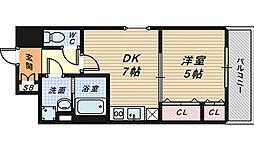 シティーコート堺駅前ロータリー[10階]の間取り