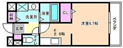 カーサ・MH[2階]の間取り