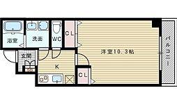 プライムコート新大阪イースト[4階]の間取り