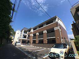 兵庫県神戸市中央区北野町4丁目の賃貸アパートの外観