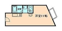 メガロコープ福島[10階]の間取り