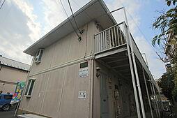 千葉県市川市若宮2丁目の賃貸アパートの外観