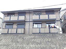 栃木県真岡市亀山1丁目の賃貸アパートの外観