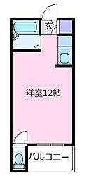 狭山南マンション[3階]の間取り