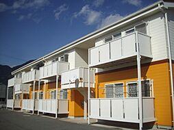 長野県上田市常磐城の賃貸アパートの外観