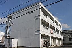 愛知県岡崎市井内町字上河原の賃貸マンションの外観