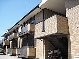 愛知県一宮市今伊勢町本神戸字下町の賃貸アパートの外観
