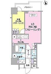 クオリア千代田御茶ノ水[10階]の間取り