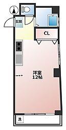 東京都渋谷区笹塚3丁目の賃貸マンションの間取り
